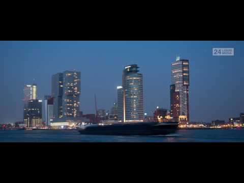 De Rotterdam, Port of Rotterdam, Hotel New York en Montevideo (Wide)