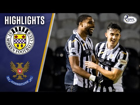 St Mirren St. Johnstone Goals And Highlights