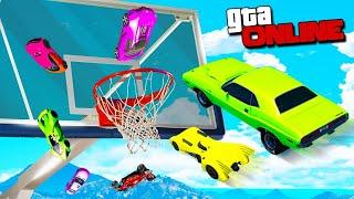 Самый Смешной Баскетбол Машинами в GTA 5 Online! Такого напряженного матча еще не было! ГТА 5 Моды!