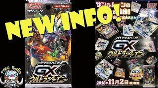 New Pokemon Set Info! (New Eevee, Guzma FA, Shiny Pokemon GX!)