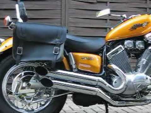 yamaha virago 535 soundbuchse silvertail soundvideo youtube. Black Bedroom Furniture Sets. Home Design Ideas