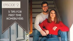 5 Tips For First Time Home Buyers: Getting a Mortgage, Realtor & Inspector | OUR HOUSE -  Episode #2