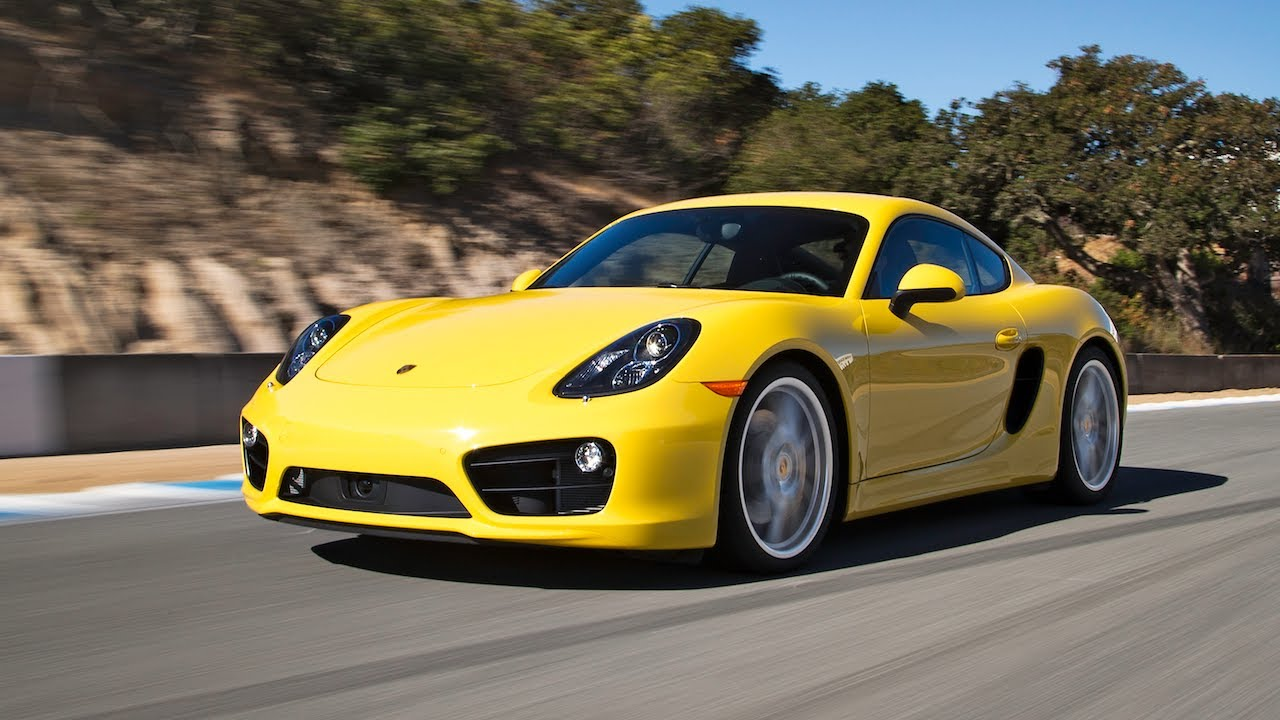 2014 Porsche Cayman S Hot Lap 2013 Best Driver S Car