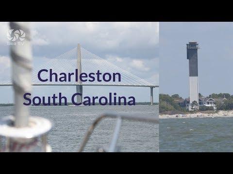 Charleston south carolina marina   sea tv