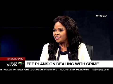 Unpacking EFF's Election Manifesto with Dr Sithembile Mbete, Lebohang Pheko