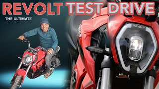 Revolt 400 || Test Drive With Full Review || E Wheeler || Arunai Sundar ||