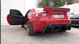 1000HP 2JZ Toyota GT86 Twin Turbo Widebody! Crazy REVS!