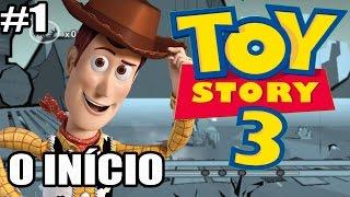 Toy Story 3 - Xbox 360, PS3 e PC - O INÍCIO - parte 1