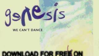 Genesis Since I Lost You We Can't Dance