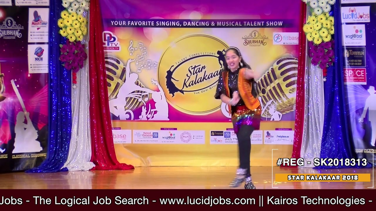 Registration NO - SK2018313 - Star Kalakaar 2018 Finals - Performance