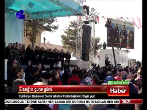 SEZA Çimento Açılışı Cumhurbaşkanı Recep Tayyip ERDOĞAN Tarafından Yapıldı - Kanal E  18.02.2017