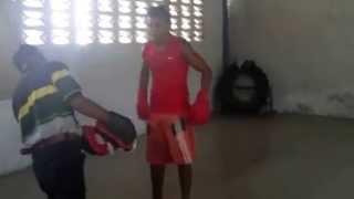 2013-04-22 Cuban Boxing Gym (Holguin)