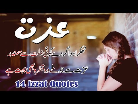 Izzat 14 Best Life Changing Wording In Hindi Urdu With Voice And Images || Aqwal E Zareen On Izzat