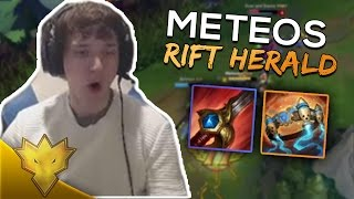 Meteos - HOW TO USE RIFT HERALD - Meteos Stream Highlights & Funny Moments