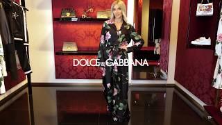 Новая коллекция Dolce Gabbana Женский образ Фирменный бутик в Лакшери Store Тренды 2020