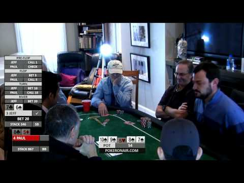 Just Hands Poker and Thinking Poker Live Training - Session 3, Part 2 - Poker On Air PokerOnAir