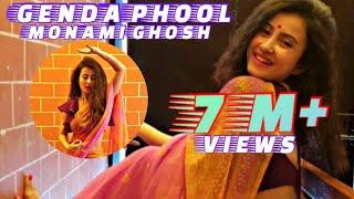 Badshah - Genda Phool|| MONAMI GHOSH||MUSIC VIDEO COVER||BENGALI ACTRESS