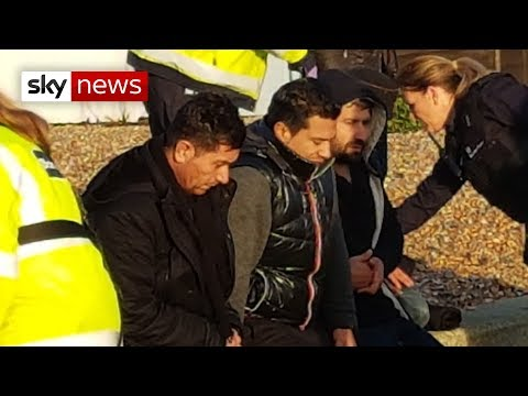 Coastal patrols 'stepped up' as migrants arrive in Kent
