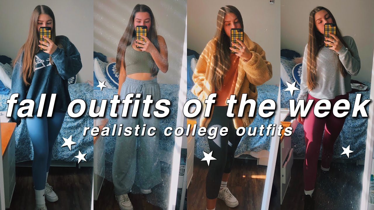 [VIDEO] - fall outfits of the week / what i wear in college | isabelle dyer 1