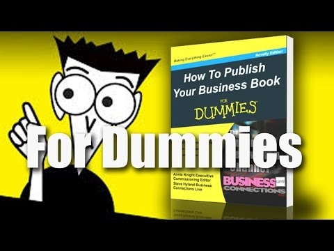 BCL51 For Dummies How To Publish Your Business Book
