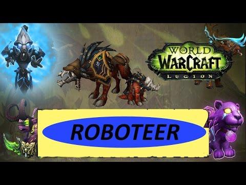 Family Familiar Achievement - Roboteer Pet Battle Guide - Legion World of Warcraft