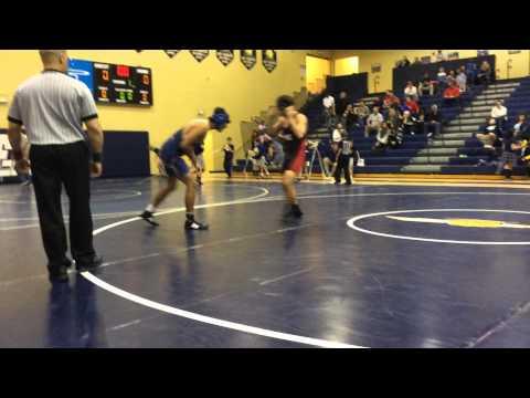 Josue Arroyo vs, Jacob Thomason (Pike Co.) 182 lbs. 1.20.15