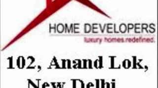 Home Developers 102 Anand Lok South Delhi Builder Floor Apartment Villa Collaboration Rent Sale Flat