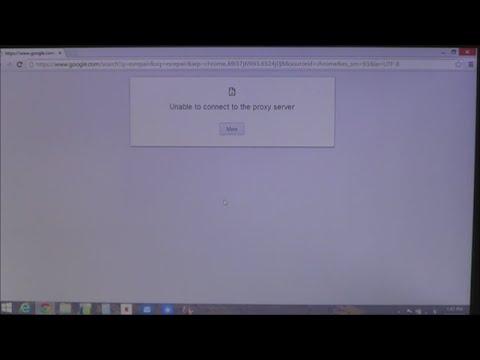 How to fix Proxy Server Errors