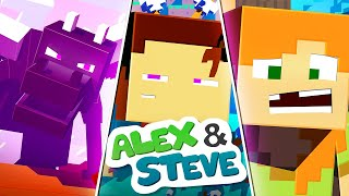 The Minecraft Life of Alex and Steve | MOVIE 3 | Minecraft Animation