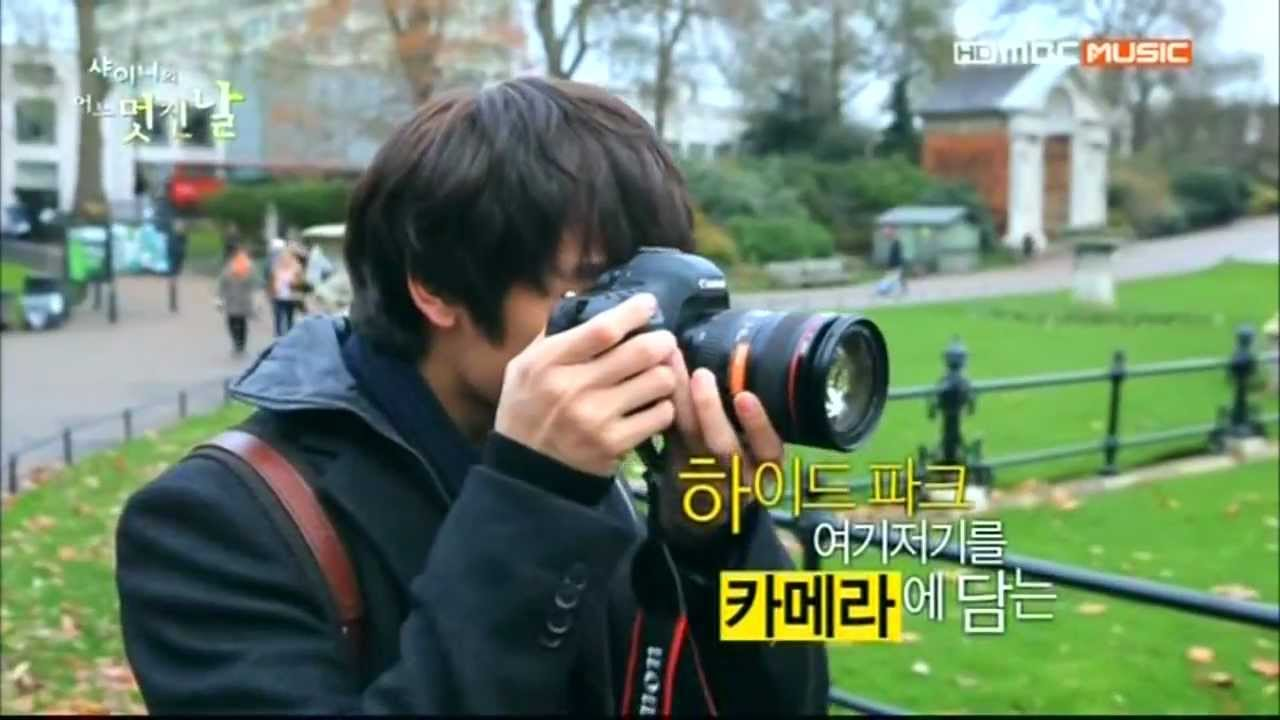 Download SHINee`s one fine day #3 Minho cut 01 - Prince at Hyde Park and Piccadilly circus
