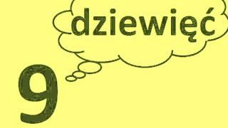 Польські числа від 1 до 10
