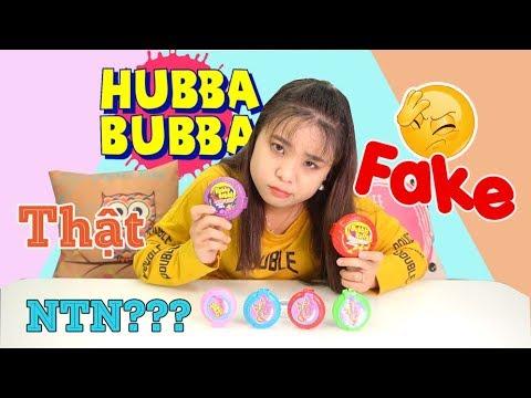 BỐC PHỐT các vị Kẹo Cao Su HUBBA BUBBA FAKE trên thị trường... Và các phân biệt!!!