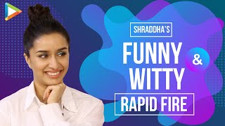Saaho Or Chhichhore? Shraddha Had More Fun While Shooting For…| Rapid Fire | Prabhas