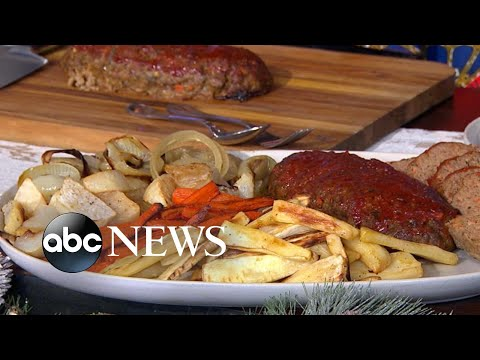Carla Hall shares delicious recipes for Granny's meatloaf, spiced pecans and more