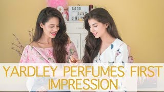 Yardley Perfumes First Impressions