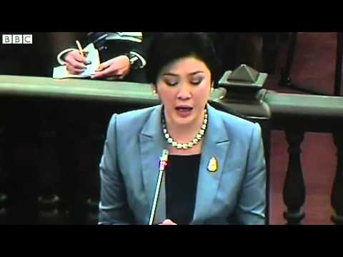 Thailand PM Yingluck Shinawatra in court for 'abuse of power'