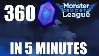 ASTROGEM FARMING TRICK LIVE | Monster Super League Gameplay (MSL)