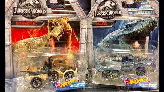 NEW CARS HOT WHEELS Jurassic World Fallen Kingdom Toys - Mama goes Disney Pixar Cars 3 Toy Hunting