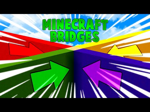 Minecraft - THE BRIDGE GAME BUT WITH MORE BRIDGES - with L8Games!  