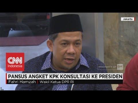 Pansus Angket KPK Konsultasi ke Presiden