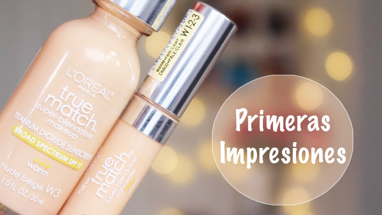 base maquillaje loreal true match