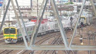 『GV-E197系 TS01編成・仙山線性能試験 試運転 (返却回送)[回9546D]』2021/4/30(JR東北本線・郡山駅)