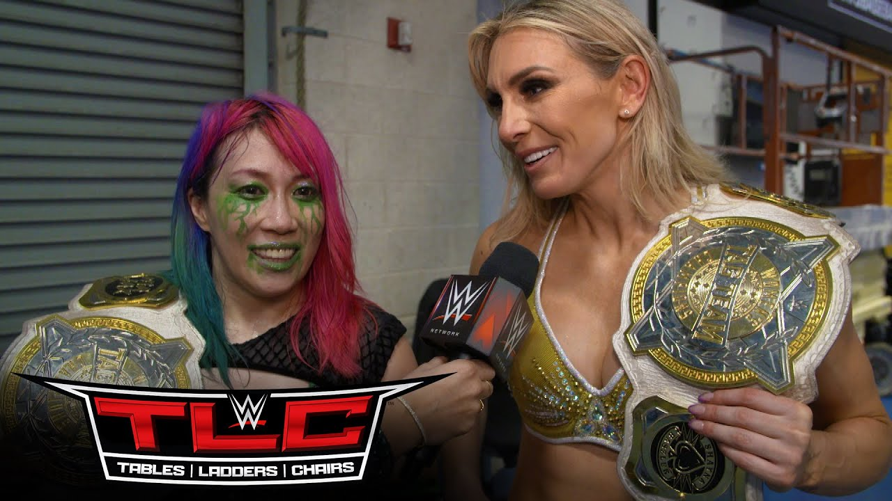 Possible Tag Team Name For Charlotte Flair And Asuka, Flair Makes History