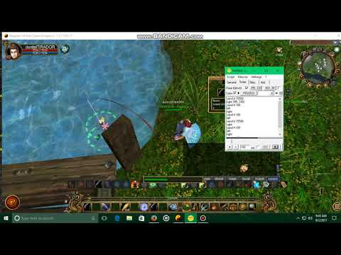 Fishing using uopilot
