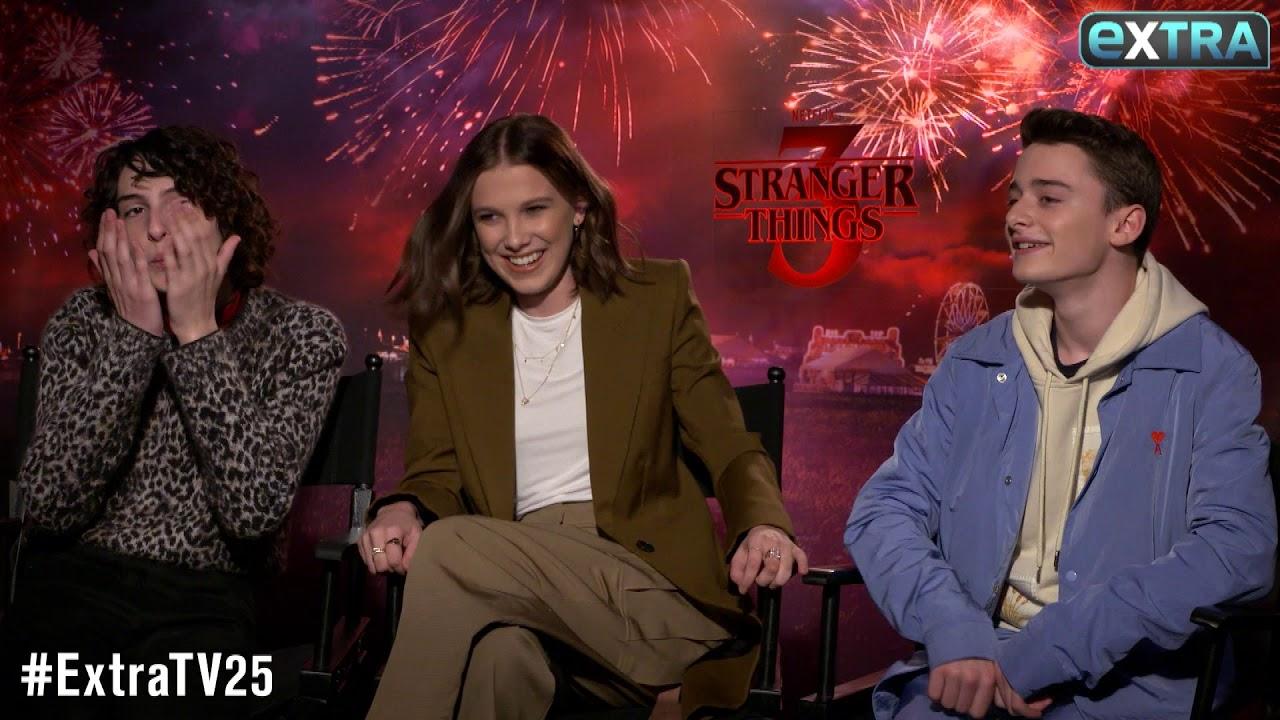 Download Millie Bobby Brown & Finn Wolfhard Talk Their Awkward Kissing Scenes on 'Stranger Things'