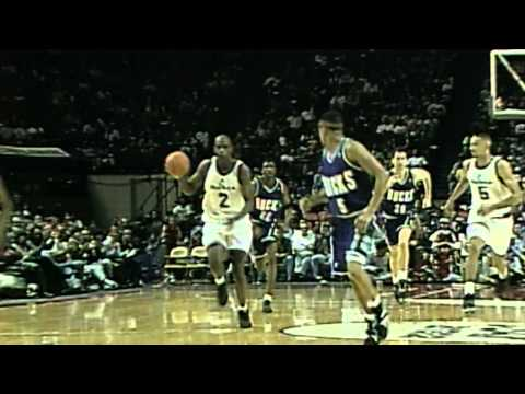 Clyde Drexler and Charles Barkley Highlight the Top 10 Plays of the Week- April 15, 1995