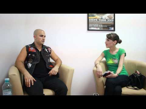 Interview with Paolo Gregoletto of Trivium for METALHEAD.RO (July 28th 2013)