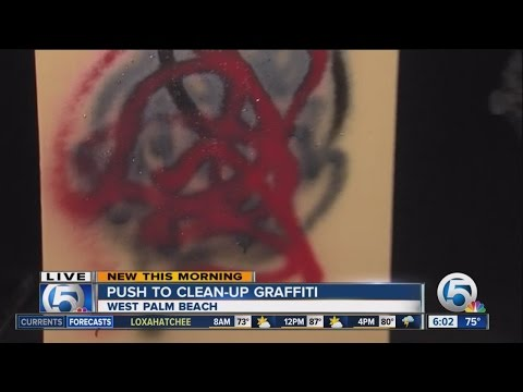 Report graffiti in Palm Beach County using your mobile device