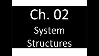 02 System Structures   Operating Systems 作業系統   Tei-Wei Kuo 郭大維