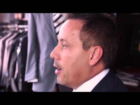 video:Art Lewin Bespoke Clothiers - Los Angeles 800.994.SUIT